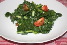 Raw Kale Salad from Vegan Cooking for Beginners