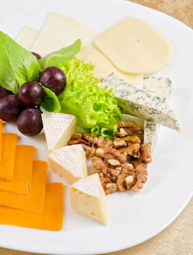 The typical Westerner consumes a huge amount of cheese