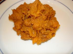 Spiced Mashed Sweet Potatoes