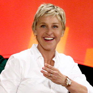 Ellen DeGeneres is a vegan. Photo from Yahoo.