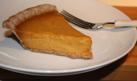 This light, fluffy, decadent and flavorful vegan pumpkin pie is the best I've ever tasted, let alone baked myself.