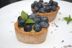 Raw blueberry Tart Recipe
