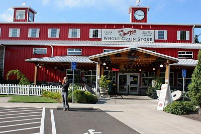 Bob's Red Mill store, outside of Portland, Oregon is the mecca of whole grains and spices.