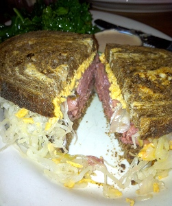 The famous Radical Reuben from The Chicago Diner