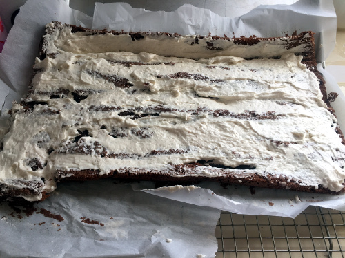 Buche de noel vegan recipe