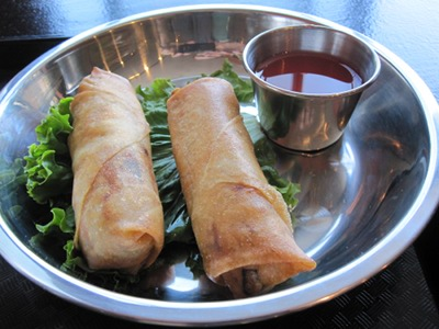 Vegan Egg Rolls at Heart and Soy in Louisville, KY