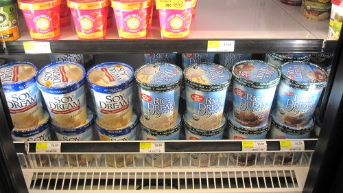 Soy Dream and Rice Dream at Whole Foods