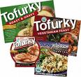Tofurky is a nice meat alternative.