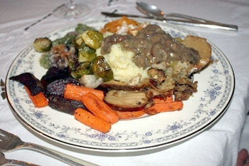 Vegan Thanksgiving Menu for Newsletter