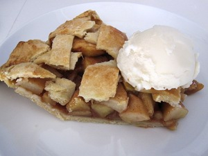 Vegan Apple Pie Ala Mode