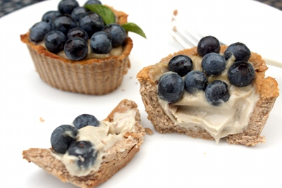 Vegan Blueberry Tarts