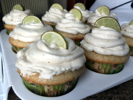 vegan key lime pie cupcakes