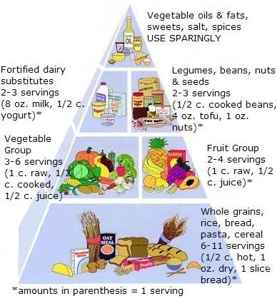 Vegan Nutritionista Vegan Food Pyramid