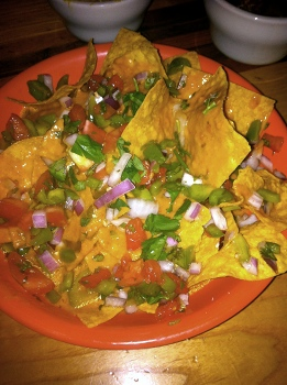 Vegan Nachos from Rosetta's Kitchen in Asheville, NC