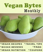 Vegan Newsletter: Vegan Bytes full of vegan recipes, cooking tips, nutrition information, and vegan FAQs.