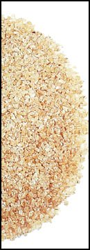 Bulgur is a byproduct of wheat berries that cooks like a whole grain.
