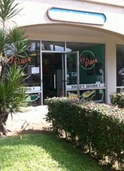 Joy's Place in Kihei, Maui is in a nondescript strip mall directly across from the beach.