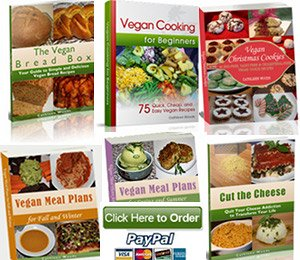 Menus and Cookbooks Vegan  Nutritionista Ebook Package