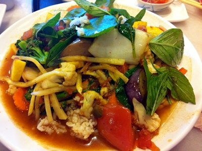 Thai Phooket Nashville Mixed Vegetable Stir Fry