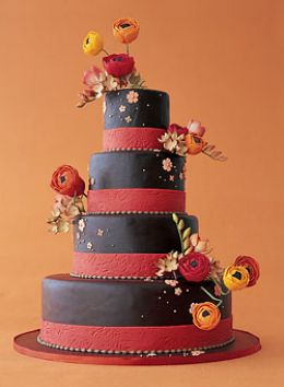 VEGAN FALL WEDDING CAKE