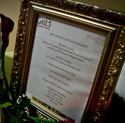 Our Vegan Wedding Menu From Gail S Vegetarian Catering In Maryland
