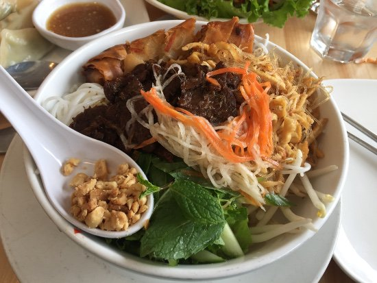 vegan Vietnamese food from Golden Lotus